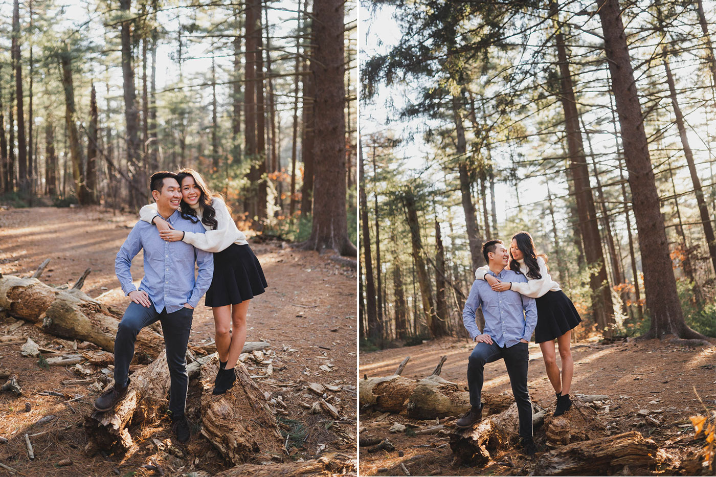 Engagement Session at Prosser Pines in Long Island by Hanel