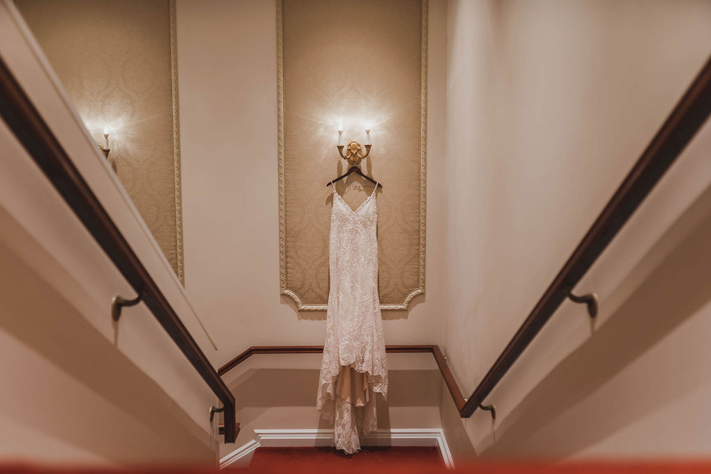 dress shot at the palace at Somerset park by weddings by H