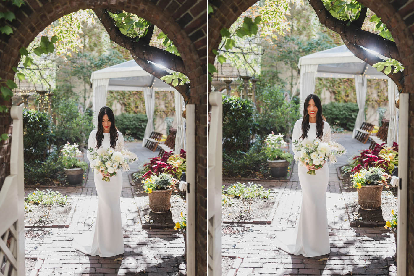 Bridal portraits at Morris House Hotel by Weddings by Hanel