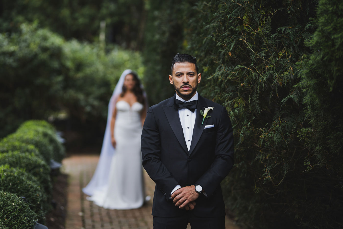first look at the Estate at Florentine Gardens by Weddings by Hanel