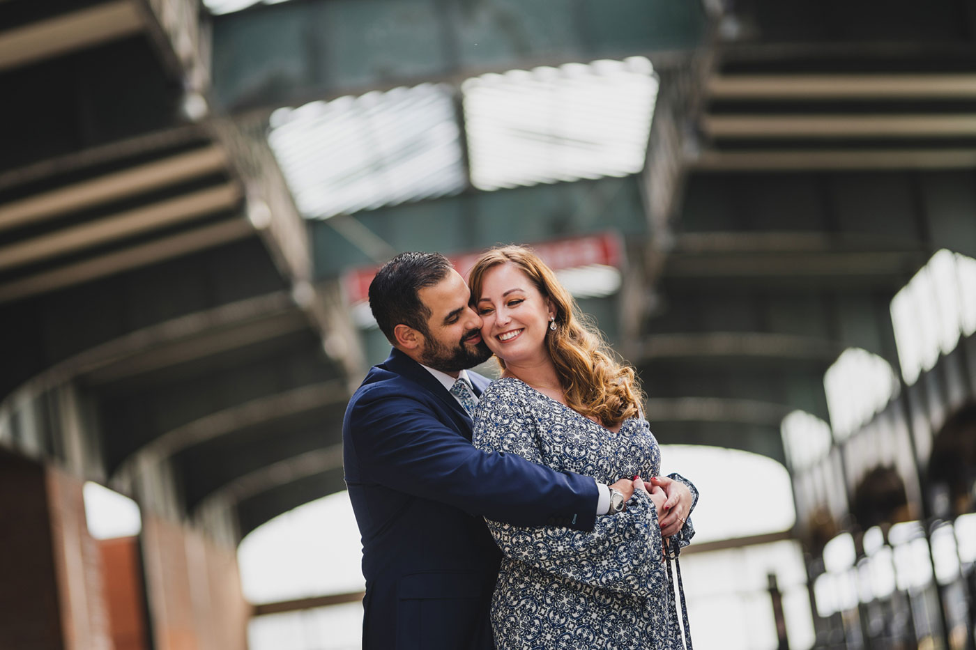 ESession photos at the Liberty State Park in Jersey City by Weddings by Hanel