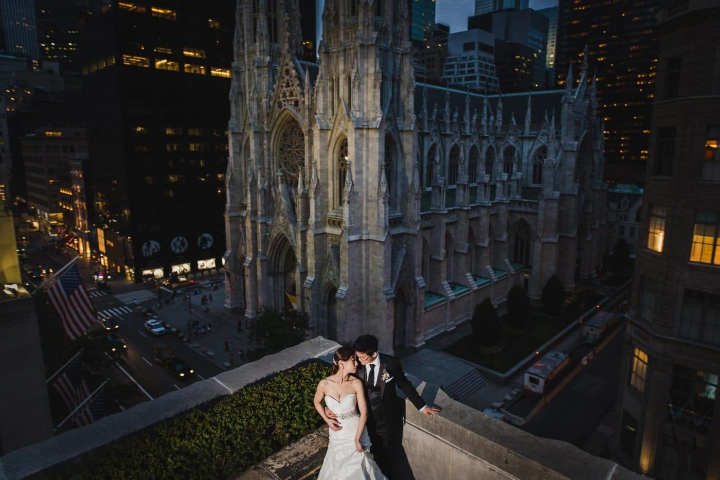 epic portrait from 620 loft and garden wedding
