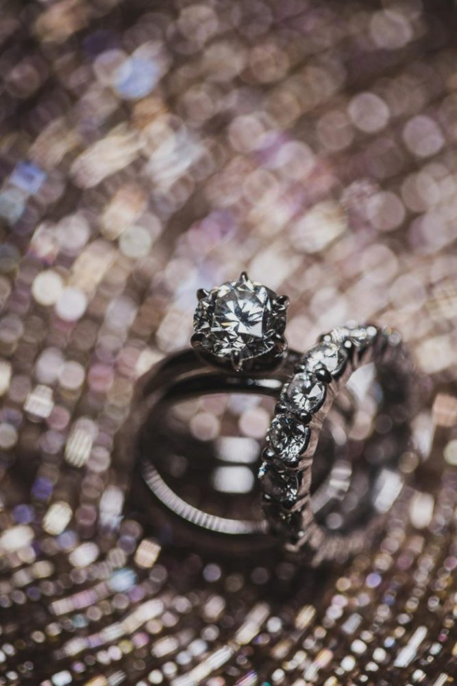 bokeh ring detail shot by hanel